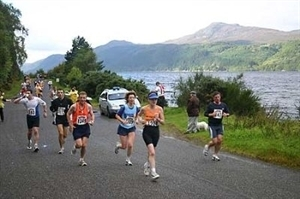 Loch Ness Marathon and Festival of Running - Click To Enlarge