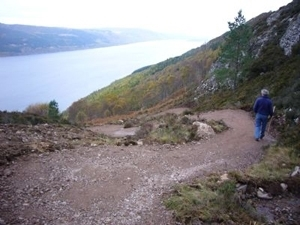 Walking on the trail of the Seven Lochs