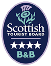 Visit Scotland 4 star bed and breakfast