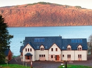 Balachladaich B&B - nothing between us and Loch Ness