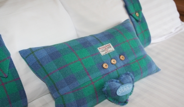 Harris Tweed Pillow Bands and Cushions